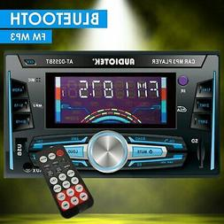 2-DIN Digital Media Receiver Car Stereo with Bluetooth, Aux,
