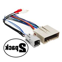 2 Replacement Radio Wiring Harnesses for 2005 Ford Escape, 2