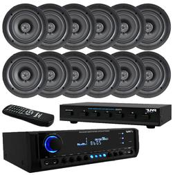 """300W Digital Home Theater Receiver System,  5.25"""" Ceiling Sp"""