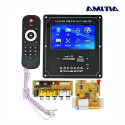 Aiyima 4.3'' LCD Audio Video Decoder Board DTS Car MP4 MP5