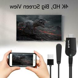 4K HD  Miracast Wireless Display Receiver HDMI TV Stick Dong