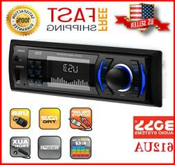 BOSS 612UA Car Stereo Receiver Audio System Single Din USB A