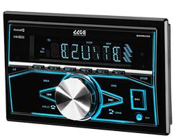 BOSS Audio 820BRGB Car Stereo - Double Din, Bluetooth,  MP3/