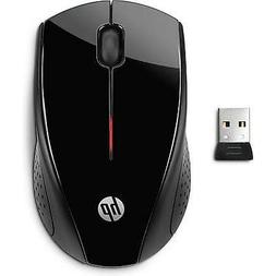 HP x3000 Wireless Mouse, Black