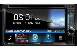 """Kenwood 2-DIN 6.2"""" Touchscreen Car Stereo DVD Player Receive"""