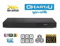 LG - UP970 - 4K Ultra HD 3D Wi-Fi Built-In Blu-Ray Player -