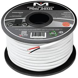 Mediabridge 16AWG 2-Conductor Speaker Wire  - 99.9% Oxygen F