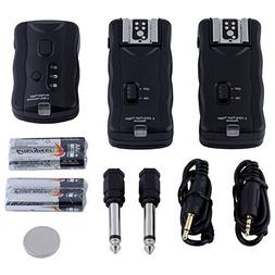 Neewer 16 Channel Wireless Flash Trigger Set: 1 Transmitter