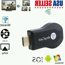 Portable AnyCast M2 Plus Wifi HD 1080P Display Dongle Receiv