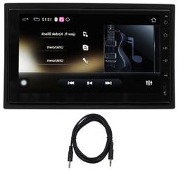 "Rockville AN7 2 Din 7"" Android Car Receiver MirrorLink/GPS/B"