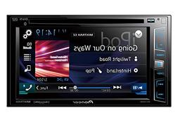 "Pioneer AVH-X2800BS In-Dash DVD Receiver with 6.2"" Display,"
