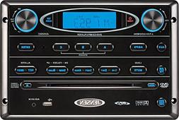 Jensen AWM965 AM/FM,CD,DVD,MP3/USB Wall Mount Stereo, DVD Pl