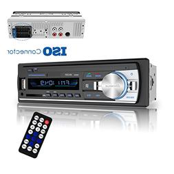 Bluetooth Car Stereo Receiver, Universal Single Din Car Radi