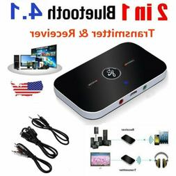Bluetooth Receiver & Transmitter Wireless RCA to 3.5mm Aux A