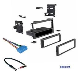 ASC Car Stereo Dash Kit, Wire Harness, Antenna Adapter for s