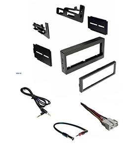 Car Stereo Dash Kit, Wire Harness, Antenna Adapter for Insta