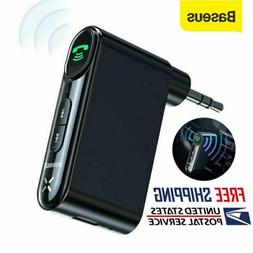 Baseus Car Wireless Bluetooth 5.0 Receiver 3.5mm AUX Adapter