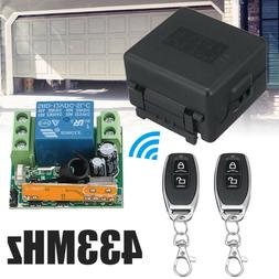 DC 12V 433Mhz 1CH Wireless RF Relay Remote Control Switch Re