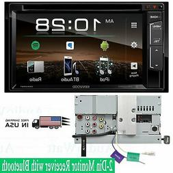 NEW Kenwood DDX25BT 2 DIN DVD/CD Player Android iPhone App P