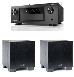Denon AVR-X4400H 9.2 Channel A/V Receiver with HEOS And QTY: