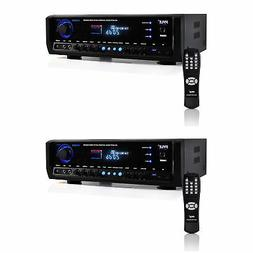 Pyle Digital Home Theater Bluetooth 4 Channel Radio Aux Ster