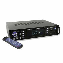 Pyle Home Theater Bluetooth Hybrid Pre Amplifier Stereo Rece