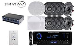 """New Vaiyerkits Home Theater System,  150W 5.25"""" In-Wall / In"""