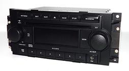 Jeep Dodge Chrysler Radio 2004-2010 AM FM CD Aux mp3 iPod In