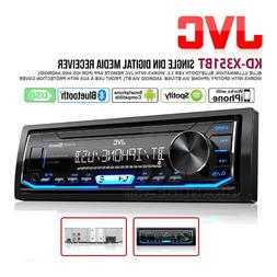 JVC KD-X351BT Digital Media Receiver with Bluetooth and Fron