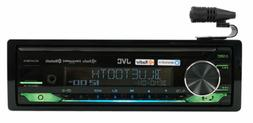 JVC KD-X470BHS Single DIN In-Dash CD Stereo Car Media Receiv