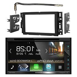 "Kenwood Double DIN 6.8"" Touchscreen Bluetooth HD AM/FM Car R"