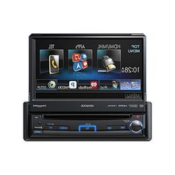 "Kenwood KVT7012BT 7.0"" WVGA 1-DIN DVD Receiver"