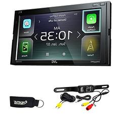 JVC KW-M740BT Compatible with Apple CarPlay, Android Auto 2-