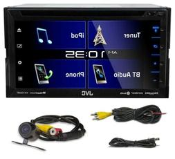 "JVC KW-V350BT 6.2"" Car DVD/Bluetooth Receiver Monitor w/iDat"