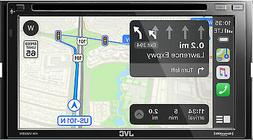 """JVC-KW-V960BW 6.8"""" Double Din Receiver+Carplay/Android Auto/"""