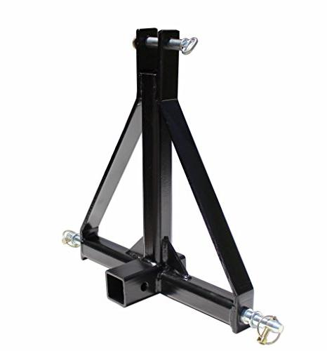 3 Point 2 Receiver Trailer Hitch Tractor Adapter