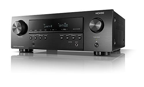 Denon channel, 4K Ultra Audio and Video, Home Theater and USB with HEOS Link Wireless