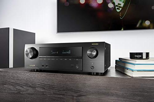 Denon AVR-X1500 HDR10, 3D | Ultra HD Home Sound System with Control