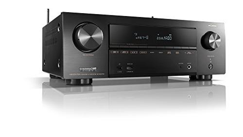Denon AVR-X1500 - HDR10, 3D | Channel 4K Ultra Home Sound | System with