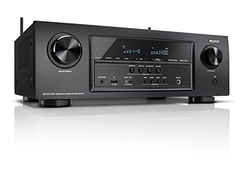 Denon AVR-S740H AV 75W x technology, Equal Power amplifiers, setup room with microphone app iOS and Kindle
