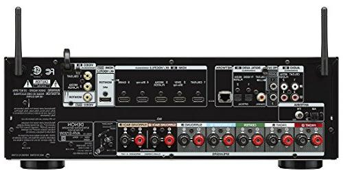 Denon AVR-S740H 7.2 AV Receiver x ch HEOS technology, Power amplifiers, Audyssey MultEQ setup with and app and Kindle