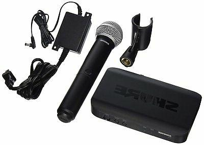blx24 pg58 h9 wireless vocal system