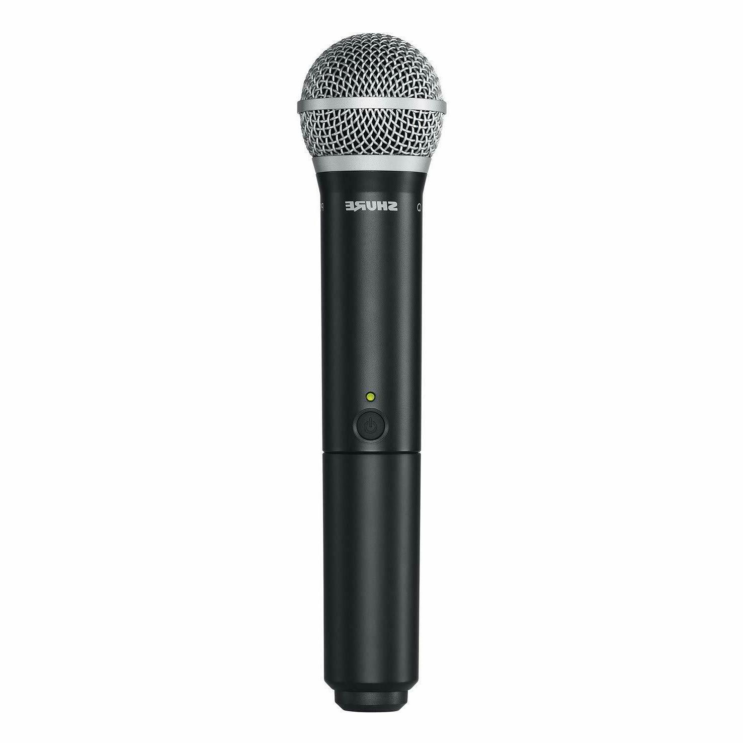 Shure BLX24/PG58 System with PG58 Vocal Microphone,