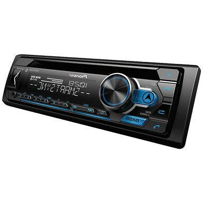 Pioneer Stereo CD Player Receiver Bluetooth USB