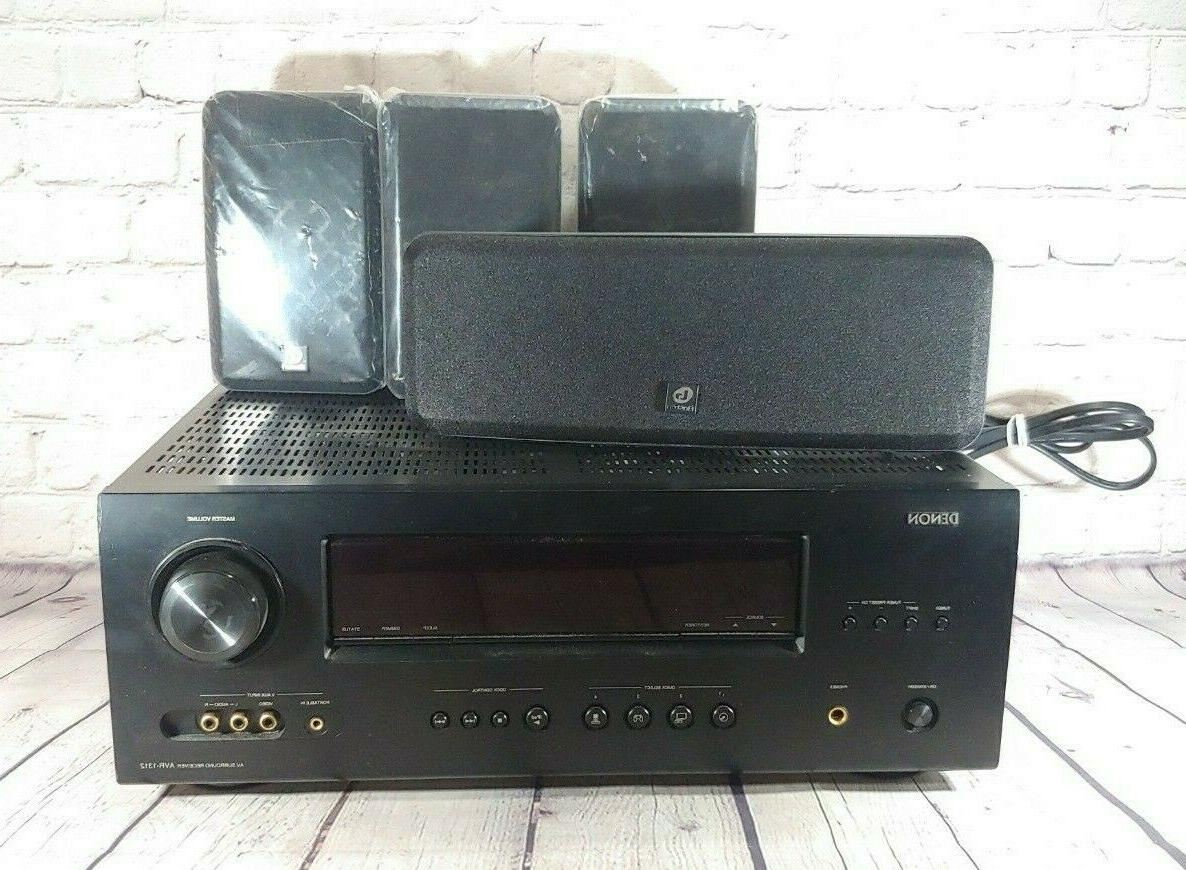 home theater system surround sound avr 1312