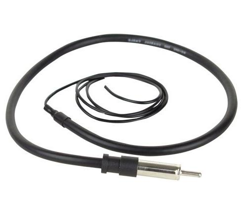 JVC Display DVD Receiver Bundle Combo With Enrock Antenna For GM