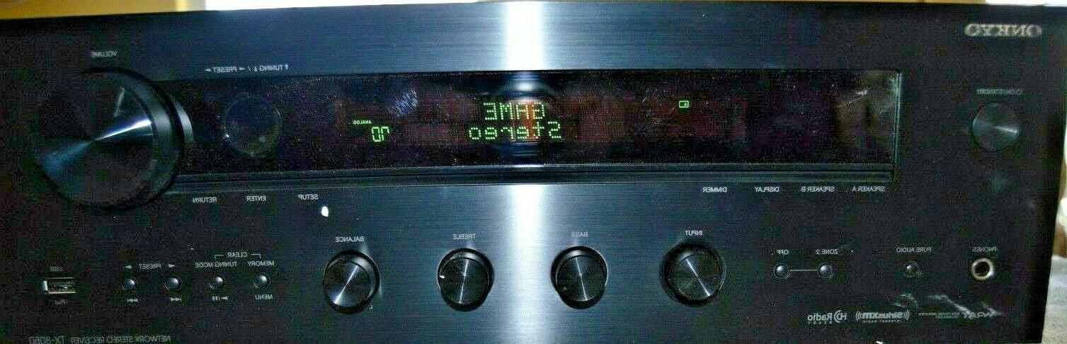 open box tx 8050 network stereo receiver
