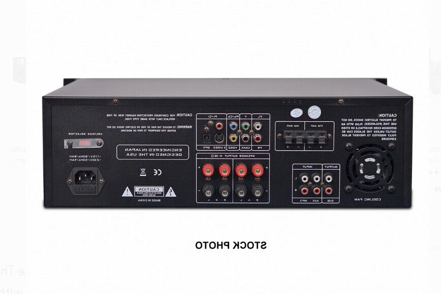 PYLE PD3000BT Theater PreAmp Stereo W/CD DVD Player
