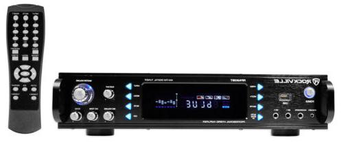 Rockville RPA60BT 1000 Watt Home Theater Receiver w/Bluetoot