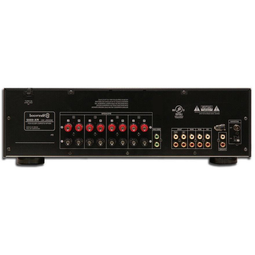 Sherwood RX5502 x Stereo Receiver,